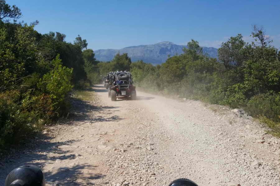 Korcula buggy safari, Kroatie