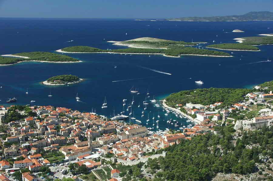 Yacht excursie Hvar